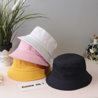 光板渔夫帽男女韩版学生百搭日系盆帽情侣款帽子潮夏季防晒遮阳帽