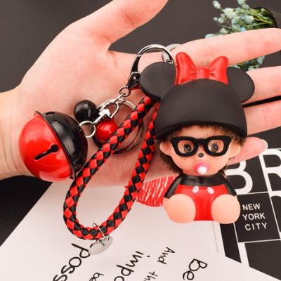 卡通可爱包包汽车挂件淘宝赠品萌琪琪钥匙扣小礼品厂家创意手机