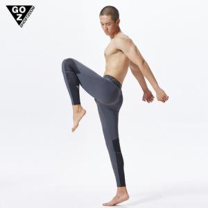 一件代发新款瑜伽裤男PRO运动健身服专业梯度压缩高腰弹力紧身裤