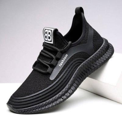 2019新款时尚休闲鞋男鞋厂家直销软底户外透气男鞋韩版潮流运动鞋