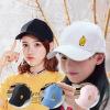 ZH 抖音爆款韩版百搭棒球帽刺绣小黄鸭 鸭舌帽防晒遮阳帽