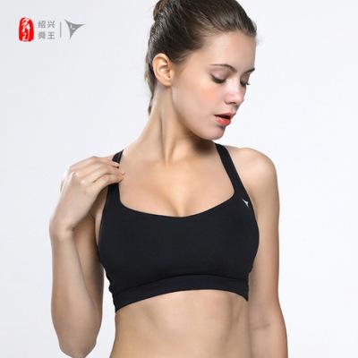 聚拢防震可调节美背瑜伽运动文胸女 两种穿法跑步健身运动内衣