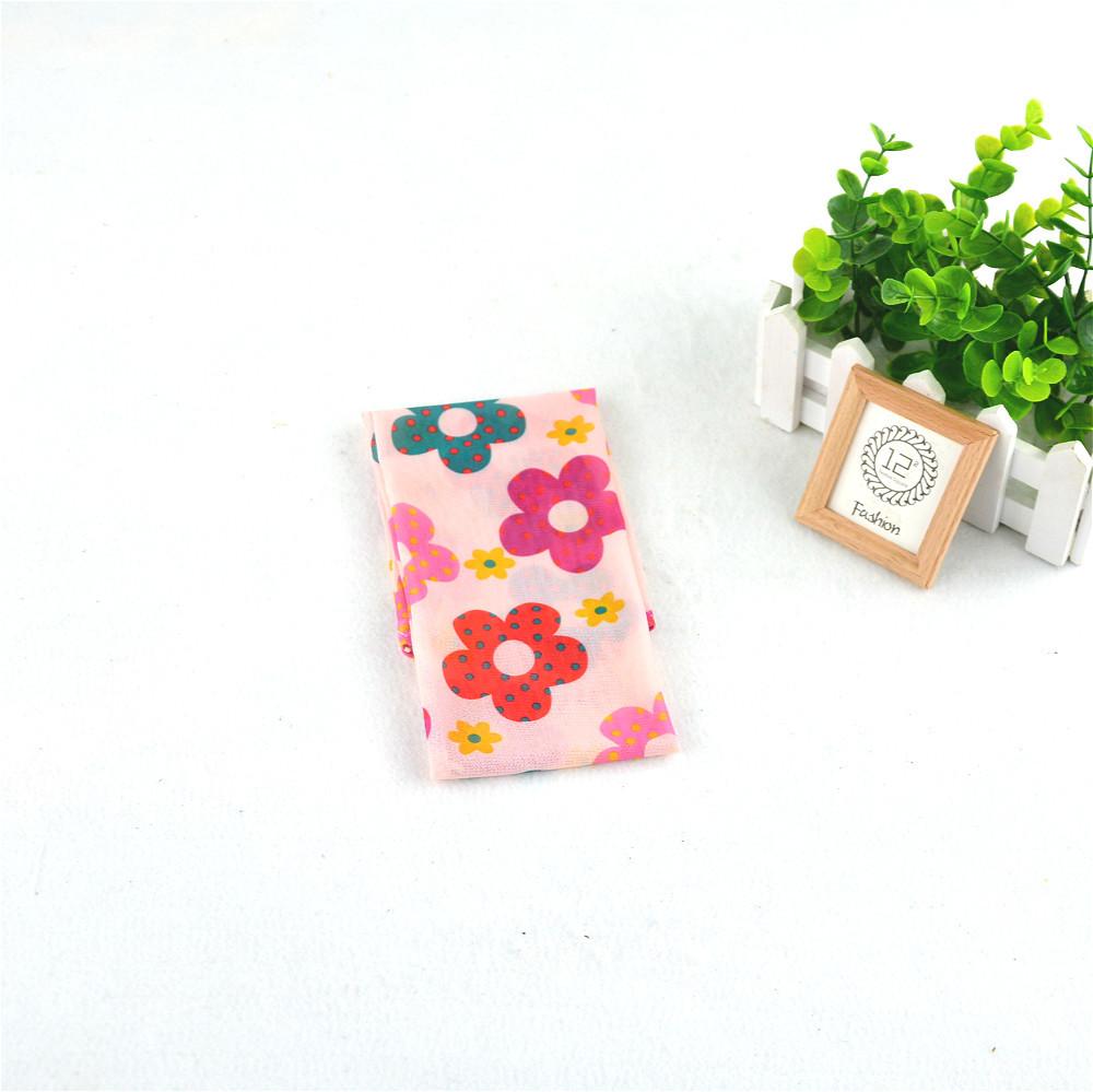 圆点花朵粉色