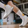 库里篮球鞋男高帮战靴耐磨透气增高运动鞋学生情侣休闲潮流小白鞋