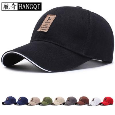 新款韩版 帽子男士棒球帽春季遮阳帽太阳帽秋防晒户外运动鸭舌帽