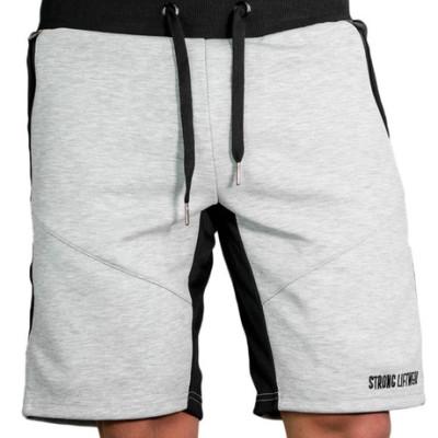 肌肉兄弟休闲短裤男士健身短裤秋季运动休闲训练跑步五分裤