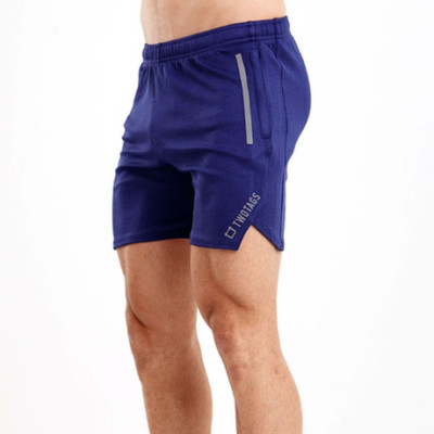 肌肉兄弟运动紧身裤男短裤篮球训练健身跑步修身五分弹力速干中裤