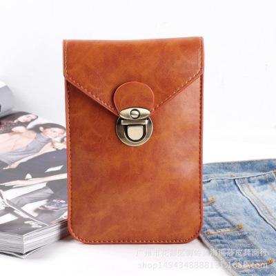 厂家直销男士小腰包 穿皮带小腰包 户外多功能竖款手机腰包现货