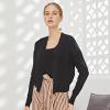 针织衫女2019秋冬新款两件套吊带开衫修身显瘦短款气质套装毛衣女