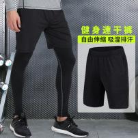 新款透气健身运动短裤篮球裤宽松训练五分裤中裤跑步裤一件代发