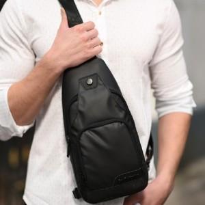 男士爆款胸包牛津布运动单肩包学生斜挎包休闲外出手机包
