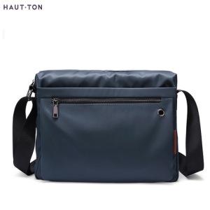 HautTon皓顿2019新款单肩包斜跨包多功能休闲男士包包可LOGO定制