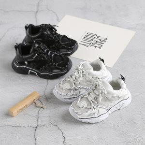 2019秋季新款ck儿童运动鞋韩版时尚男女童鞋网布透气休闲学生跑鞋