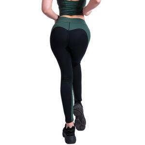欧美新款蜜桃提臀健身裤女弹力速干紧身打底裤高腰显瘦运动瑜伽裤