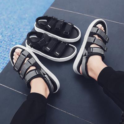 男士凉鞋2019夏季新款休闲凉鞋男耐磨潮流时尚户外运动沙滩鞋男