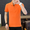 2019夏季男式POLO衫纯色短袖T恤时尚韩版休闲半袖翻领t恤男上衣潮