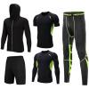 新款男士瑜伽服 时尚速干透气拉链外套健身服 跑步运动休闲套装