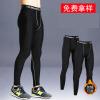 男pro健身运动紧身裤 篮球打底训练长裤跑步速干排汗压缩裤跨境