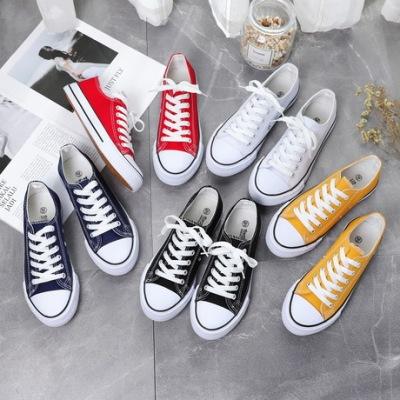 春季新款低帮帆布鞋情侣学生鞋韩版硫化经典男布鞋批发女鞋6621