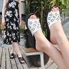 坡跟凉拖鞋女夏新款高跟女鞋外穿防滑防水台聚氨酯厚底一字拖鞋轻