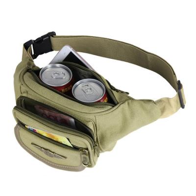 小红书网红同款包包 Bags2019 夏季新款帆布户外跑步斜挎男士腰包