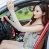 韩版运动冰丝袖套 防晒防紫外线运动冰袖 开车防紫外线手套