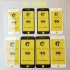 适用iPhoneXsMax全屏钢化膜9D紫光大弧XR手机保护苹果678Plus贴膜