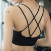 内衣女美背性感细带运动文胸聚拢无钢圈收副乳女可拆卸式胸垫文胸