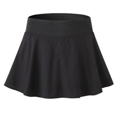 女士运动速干裙裤 网球舞蹈瑜伽训练服防走光健身内衬短裙裤2074