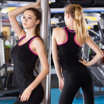 女士运动背心 PRO紧身训练瑜伽跑步健身 速卖通速干衣服2002