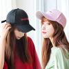 夏季棒球帽女chic鸭舌帽学生情侣弯檐帽出游遮阳时尚帽子韩版百搭