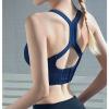 运动内衣女背心式跑步聚拢大胸定型瑜伽美背健身房文胸高强度防震