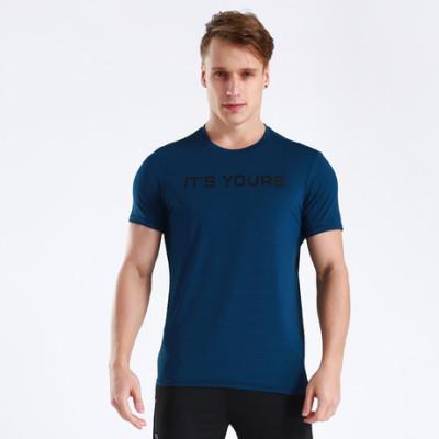 猎星厂家运动休闲短袖健身跑步训练T恤速干吸湿排汗舒适上衣90089
