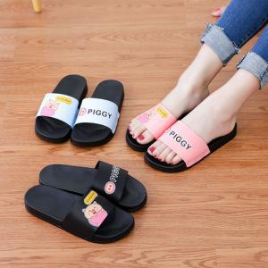 2019夏季爆款时尚可爱卡通室内外女拖鞋夏防滑软底居家浴室凉拖鞋