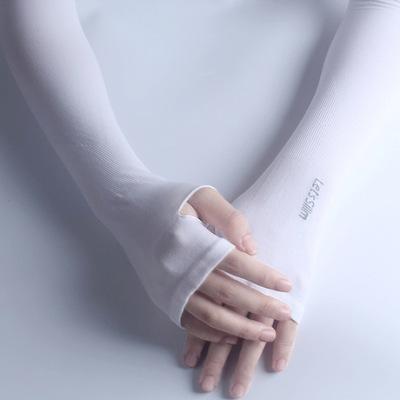 新款冰袖 夏季骑行防晒臂套防紫外线男女冰丝袖套 厂家批发手套