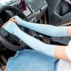 夏季冰防晒男士袖套女紫外线护臂手臂套袖冰丝假袖子手套薄款开车
