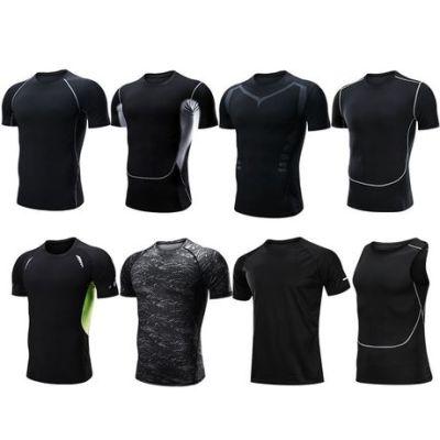 健身衣男 户外运动速干短袖t恤男 训练pro跑步弹力紧身服