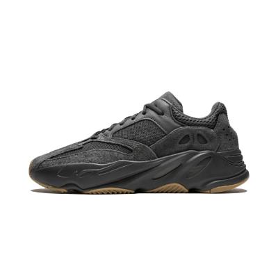 Adidas Yeezy Boost 700 黑魂 黑生胶 侃爷椰子700 老爹鞋