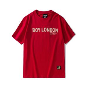 BOY LONDON 新款红色圆领短袖套头T恤老鹰