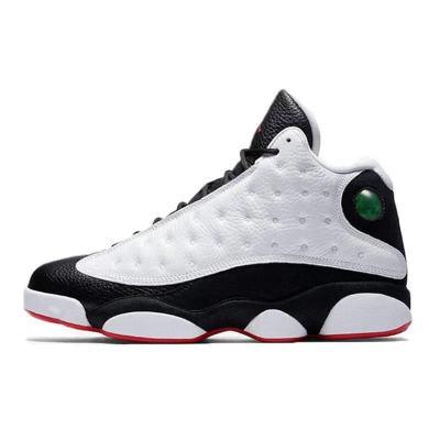 Air Jordan 13 Retro AJ13 乔黑白熊猫男子复刻篮球鞋