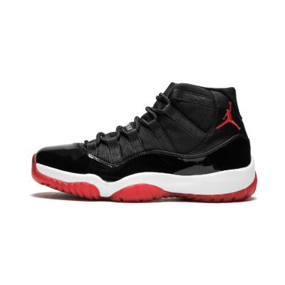 Air Jordan 11 Retro Bred AJ11乔高帮黑红篮球鞋