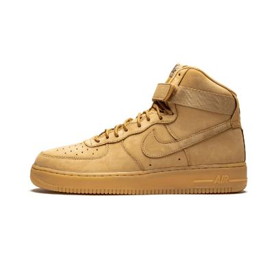 Nike Air Force 1 High 高帮小麦色空军一号板鞋