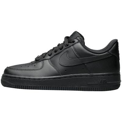 NIKE Air Force 1 AF1空军一号纯黑休闲板鞋
