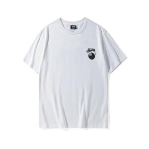 欧美潮牌2019夏季新款chic Stussy洛丽塔女神短袖T恤男女情侣半袖