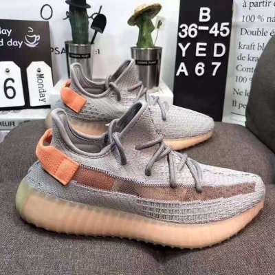 yeezy360V2三大洲冰丝针织复古潮鞋