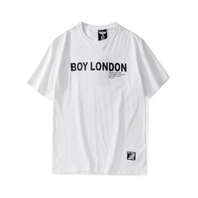 BOY LONDON 新款白色圆领短袖套头T恤老鹰