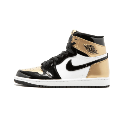 Air Jordan 1 Gold Toe AJ1 黑白金 黑金脚趾