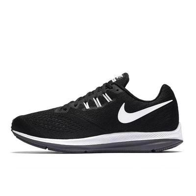 Nike Zoom Winflo4男女鞋黑白透气网面气垫运动跑步鞋898466-001