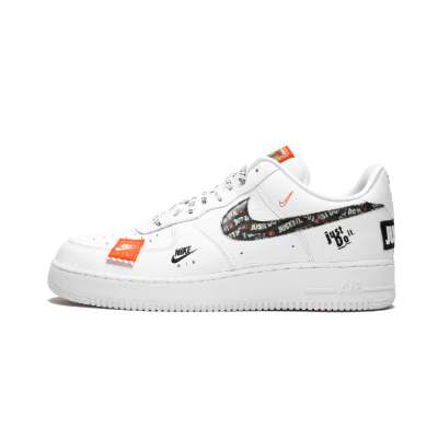 Nike Air Force 1 '07 Just Do It af1空军一号 拼接 AR7719 100