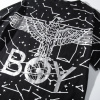 BOY LONDON 新款黑白圆领短袖套头T恤老鹰